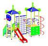 Детский игровой комплекс с спортивными елементами