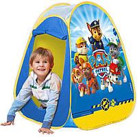 Детская палатка для игры на улице Щенячий Патруль John 71044