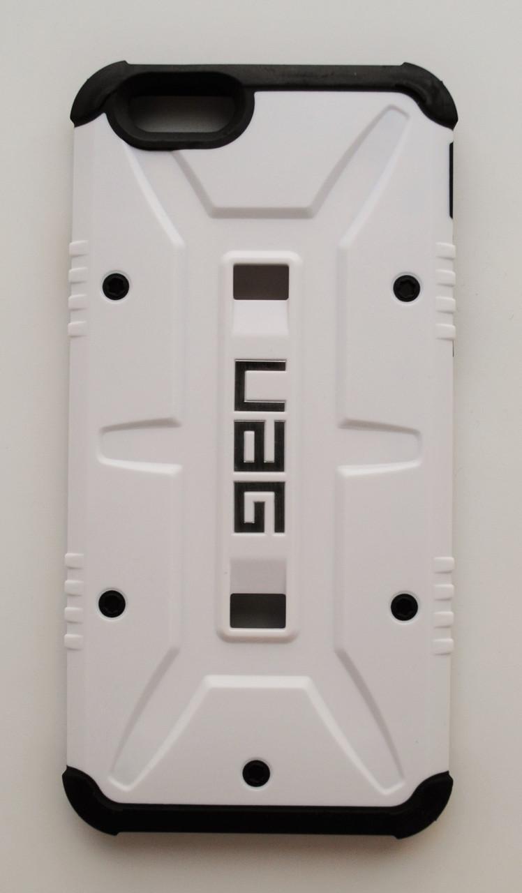 Чехол на Айфон 6/6s UAG ударопрочный Поликарбонат Белый + Защитная Пленка
