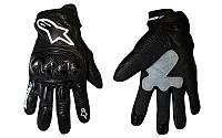 Мотоперчатки кожаные Alpinestars M-4544. Суперцена!