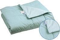 Одеяло детское хлопковое стеганое 140х105 см РУНО (320.02ХБУ_Синий)