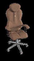 Кресло Grand (Гранд) ткань Азур бронза (ТМ Kulik System)