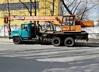 Оренда Автокрана КРАЗ 250 КС-4574
