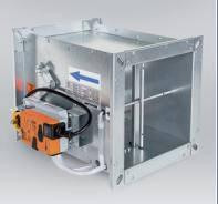 Регулятор расхода переменного потока воздуха RPMC-V