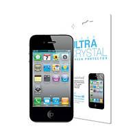 SGP Защитная Пленка глянец Ultra Crystal Series для iPhone 4/4S копия