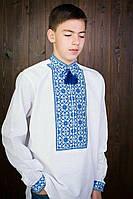 Красивая мужская вышиванка Ромб 20421