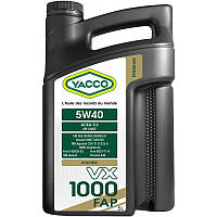 Масло моторное YACCO VX 1000 FAP 5w-40 (5л.)