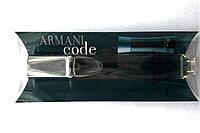 """Парфюм миниатюра на блистере Giorgio Armani """"Code for Men"""" 20 мл для мужчин"""