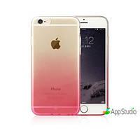 Накладка Baseus Gradient case For iPhone 6/6S Pink