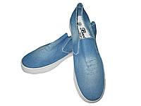 Текстильная обувь джинсовые, размеры 37-40, BK-233