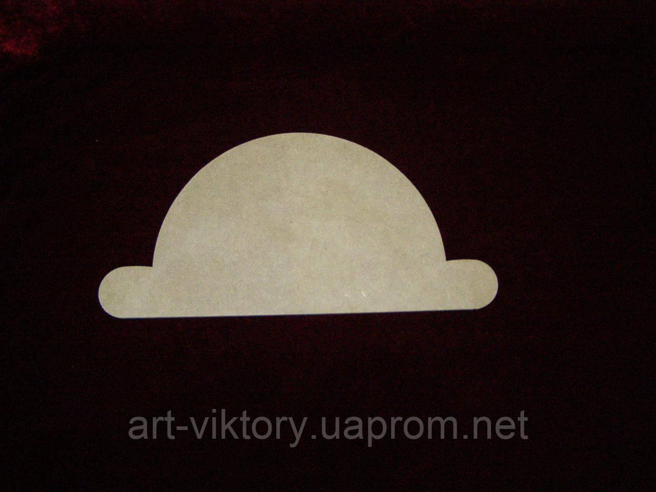 Шляпа (28 х 14 см), декор