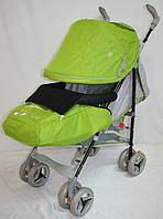 Прогулочная детская коляска-трость Sigma  BYW-308. Салатовая.