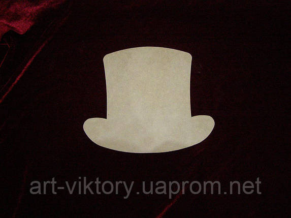 Шляпа (26 х 20 см), декор, фото 2