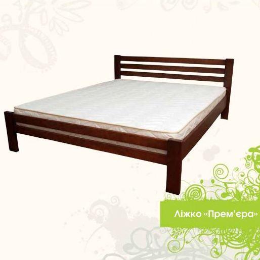 Деревянная кровать Премьера 180х200 сосна Mebigrand