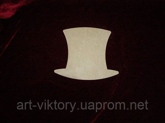 Шляпа (22 х 20 см), декор, фото 2