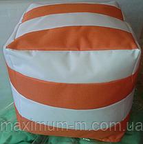 Кресло-пуф куб, L, 40х40х40 см
