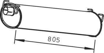Глушник випускної системи, фото 2