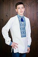 Мужская вышиванка с длиным рукавом в расцветках 20428