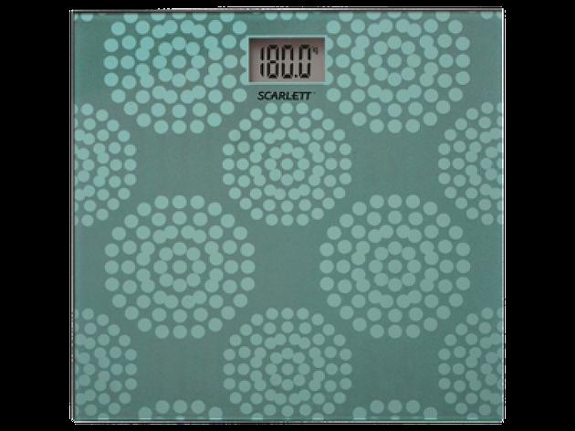 Весы Scarlett SC-BS-33-E-073 аквамарин, фото 2