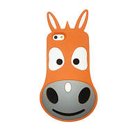 Чехол- накладка Disney a Donkey  for  iPhone 6/6S Orange
