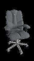 Кресло Business (Бизнес) ткань Азур серая (ТМ Kulik System)