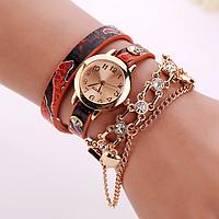 Часы винтажные женские красные
