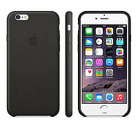 Чехол Apple Leather Case для iPhone 6 Plus - Black