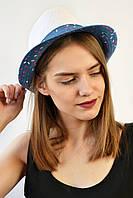 Шляпа Мальорка белая