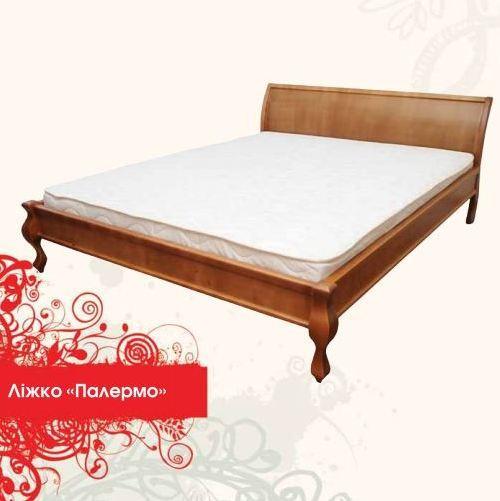 Деревянная кровать Палермо 180х200 сосна Mebigrand
