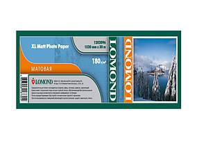 Бумага Lomond для струйных принтеров, матовая, 180 г/м2, 1520 мм х 30 метров
