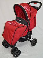 Прогулочная детская коляска-трость Sigma  YK-10F. Красная
