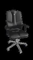 Кресло Business (Бизнес) экокожа черная (ТМ Kulik System)