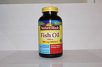 Витамины Рыбий жир, Омега 3, Fish Oil, Nature Made, 1200 мг, 200 капсул
