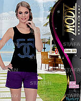 Женский комплект майка+шорты Турция MODY 320. Размер 42-44.