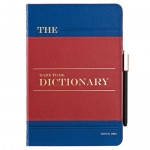 Ozaki O!coat Wisdom Dictionary Blue/Red/Blue for iPad mini/iPad mini Retina