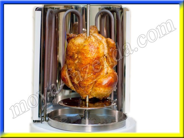 Электрошашлычница 3 в 1(шашлик, шаурма, гриль)