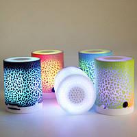 Портативная мини-колонка со светодиодной подсветкой