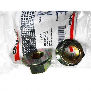 Гайка М20х1.5 шпильки ступицы для трактора New Holland T8040, T8.390, MX255/285 и Case Magnum310/335/340, фото 2