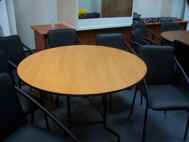 раскладной стол круглый
