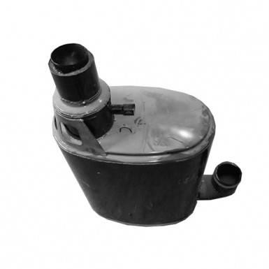 Глушитель для трактора New Holland T8.390, Case Magnum 340, фото 2