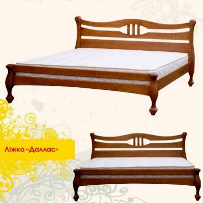 Деревянная кровать Даллас 160х200 сосна Mebigrand