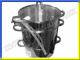 Соковарка нержавеющая на 5 литров ST 49-000-06