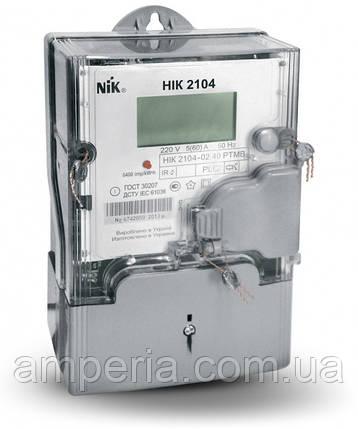 Счетчик НІК 2104-02.40 РТМВ (5-60)А, PLC-модуль, многотарифный, фото 2