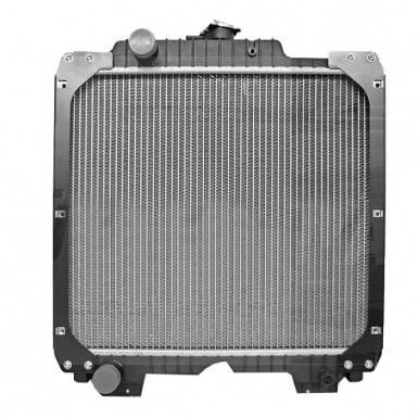 Радиатор для трактора New Holland, Case, фото 2