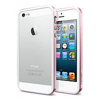 SGP Case Neo Hybrid EX Slim Metal Series Metal Pink iPhone 5/5S