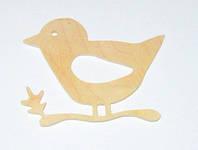 Заготовка / Птичка на ветке 10*8 см