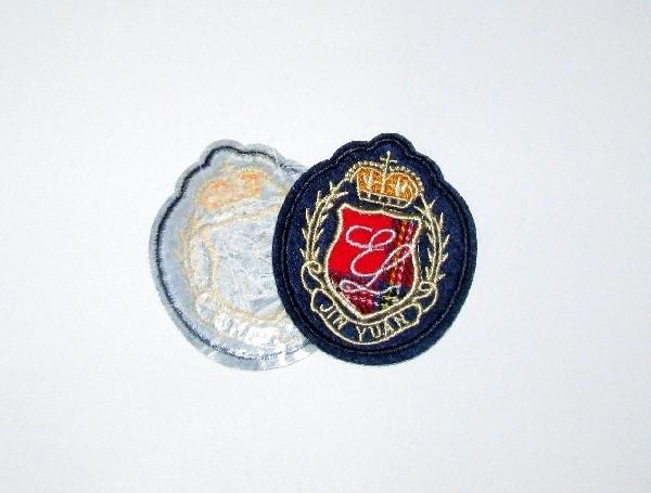 Нашивка на одежду 6,5*5,5 см, Красный Герб