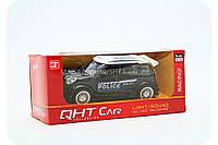 Машинка игровая «QHT Car» - Полиция черный джип (свет, звук) , фото 1