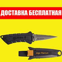 Нож подводный Mares Argo Titanium Марес Арго