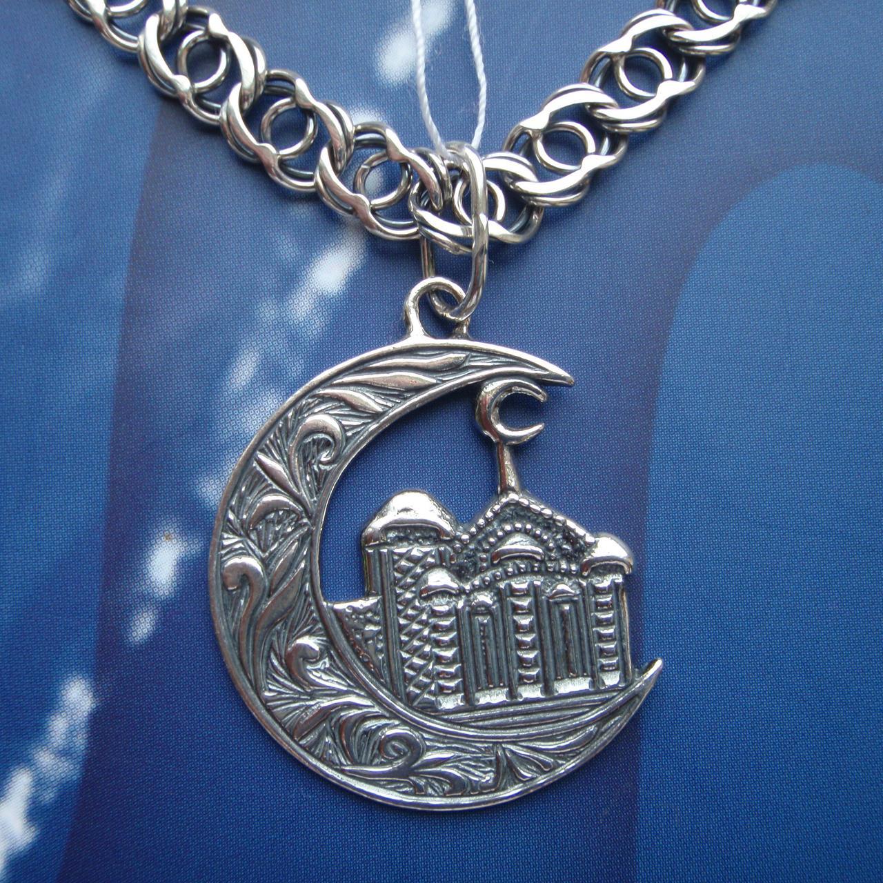 Кулон мусульманский полумесяц памятник на могилу чебоксары цена